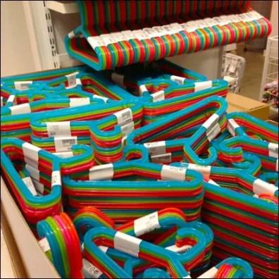 Clothes Hanger Circus Colors Main