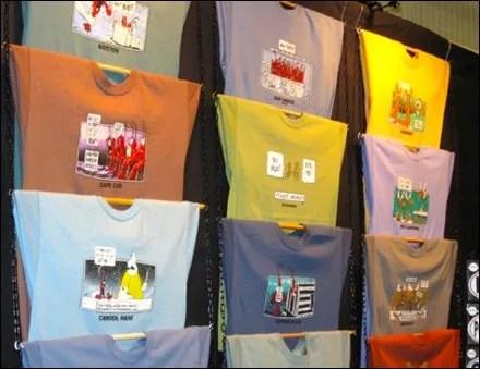 Rod and Chain T-Shirt Display Main