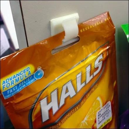 Stick-on Single-Bag Merchandiser Main
