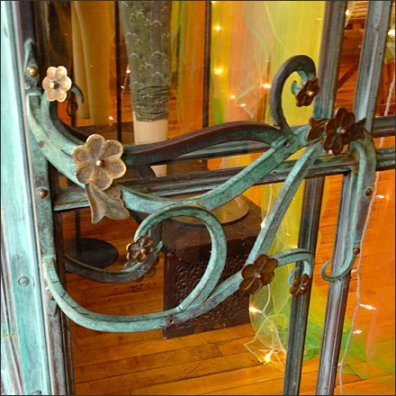 Art Nouveau Store Entry Main
