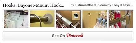 Bayonet Mount Hooks Pinterest Board for FixturesCloseUp