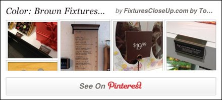 Color Brown Fixture Pinterest Board for Fixtures Close Up