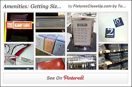 Getting Size Right in Retail Pinterest Board
