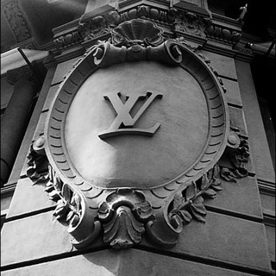 Louis Vuitton Building Heraldry Mail