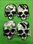 Four Skull T-Shirt Graphic
