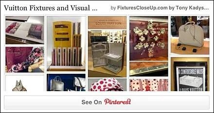 Louis Vuitton Fixtures and Merchandising Pinterest Board