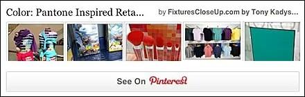 Pantone Pinterest Board for Fixtures Close Up