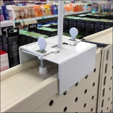 Pegboard Grip Gondola-Top Mount