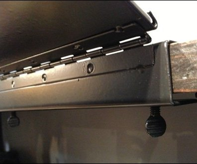 Long Piano Hinge Sign For Shelf Edge