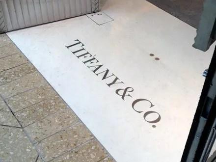Tiffany Door Floor Inlay