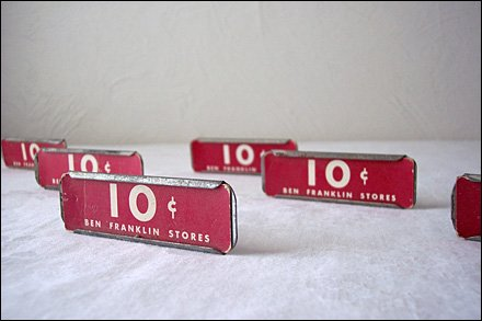 Vintage Dime Store Shelf Tags