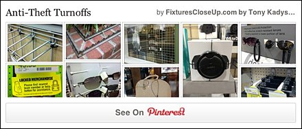 Anti Theft Turnoffs Pinterest Board on Fixtures Close Up