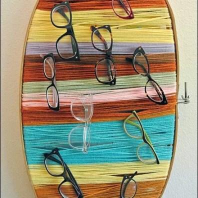 DIY Yarn Eyewear Display Overall