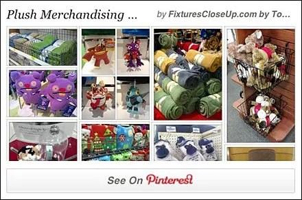 Plush Merchandising Pinterest Board for FixturesCloseUp