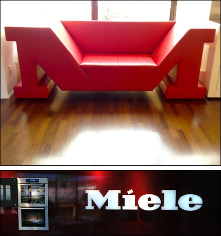Branded Retail Sitting Area Sofa Main+