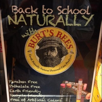 Burt's Bees Retail Fixtures Burts Bees Apothacary Display Sign