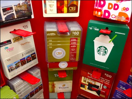 Curved Gift Card Alcove 1