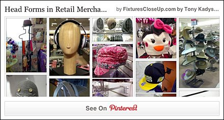 Head Form Fixtures Pinterest Board on FixturesCloseUp