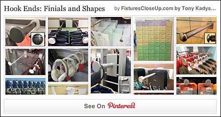 Hook Ends Finials and Shapes Pinterest Board for Fixtures CloseUp