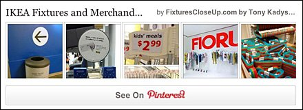 IKEA Fixtures Pinterest Board for FixturesCloseUp