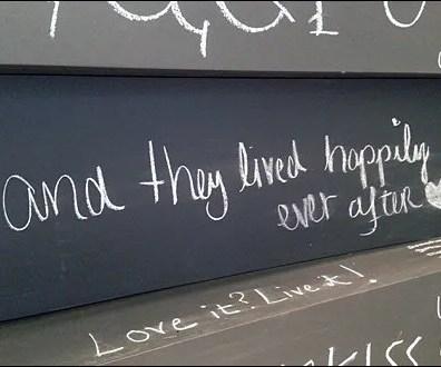 In-Store Graffiti Wall Runs Wild