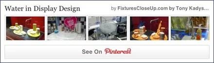 Water in Retail Display FixturesCloseUp Pinterest Board