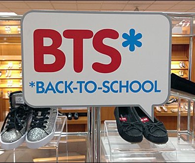 Back-to-School Speech Bubble Shoes
