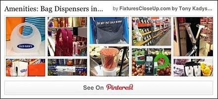 Bag Dispensers Pinterest Board for FixturesCloseUp