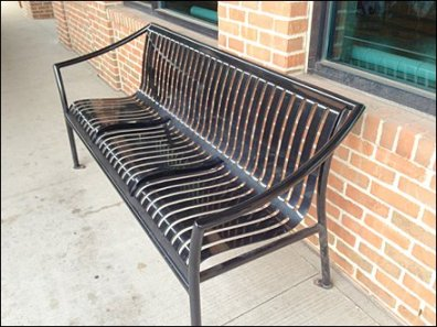Bench Median Strip Built-in 1