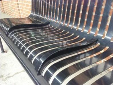 Bench Median Strip Built-in 3