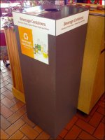 Multi-Material Beverage Container Recycling Station