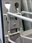 Conduit Bender Pallet Rack Hook Closeup