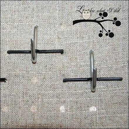 Cross-Pinned J-Hook Fabric Pegboard