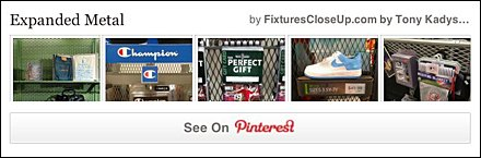 Expanded Metal Pinterest Board on FixturesCloseUp