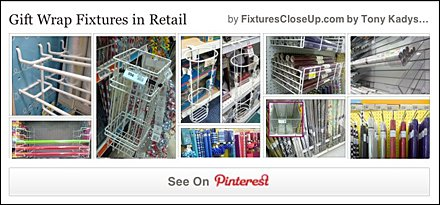 Gift Wrap Fixtures Pinterest Board on FixturesCloseUp