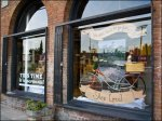 Don't Go Far … Shop Local Holiday Window _ Bramble Workshop Aux