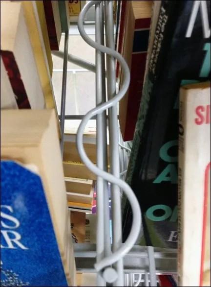 Serpentine Open Wire Book Dividers