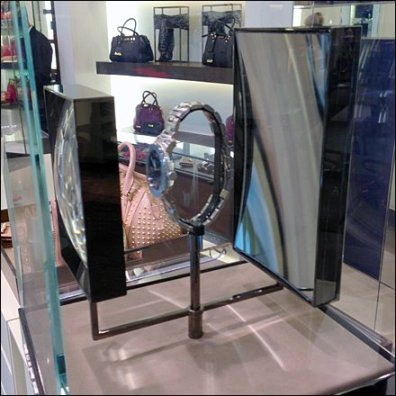 Burberry Steam Punk Display Magnified