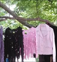 Clothing Display the Woodstock Way 1eb
