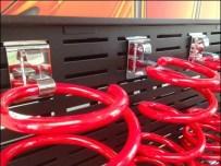 Coil Spring Display via Slot Hook Main