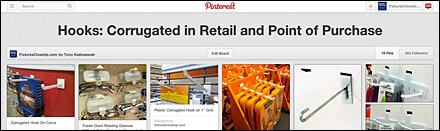 Corrugated Hooks in Retail and Point of Purchase