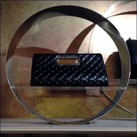 Circular Shelf-Edge Shadowbox Display
