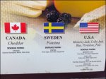 International Cheese Pairing Closeup