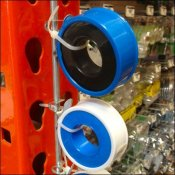 Pipe Tape Strip Merchandiser