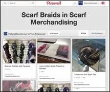Scarf Braids in Scarf Merchandising