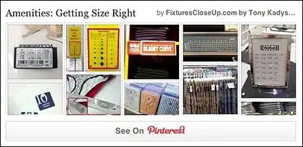 Amenities Getting Size Right FixturesCloseUp Pinterest Board