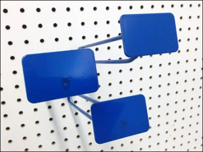 Blue All Wite Metal Plate Scan Hooks 1
