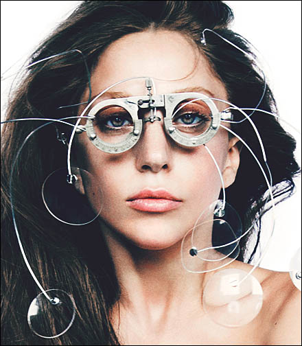 Lady Gaga Retail Fixtures - Eyewear Prescription for Lady Gaga