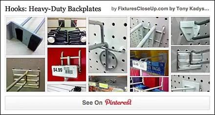 Hooks- Heavy-Duty Backplates FixturesCloseUp Pinterest Board