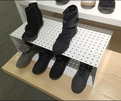 Perforated Metal Shoe Box Main